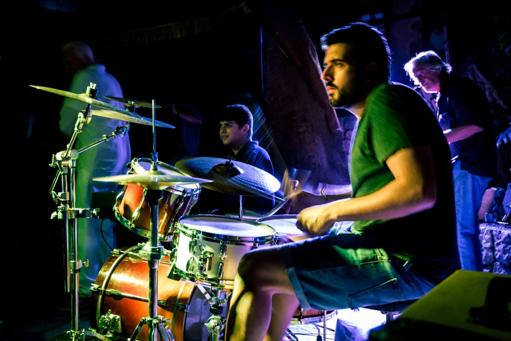 didac on drums